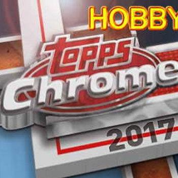 MLB 2017 TOPPS CHROME HOBBY BOX #JUDGE