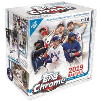 MLB 2019 TOPPS CHROME UPDATE box #petealonso #guerrerojr