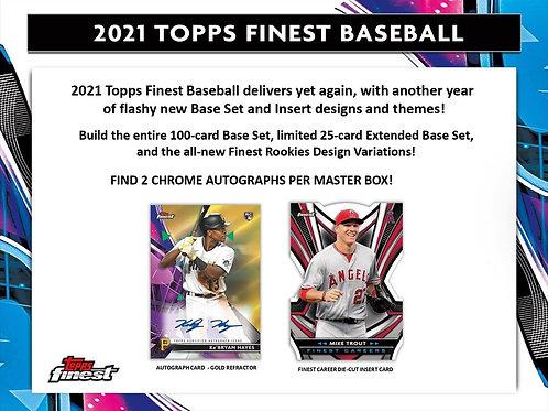 MLB 2021 TOPPS FINEST box #MLB #TOPPS #野球 #BASEBALL #メジャーリーグ