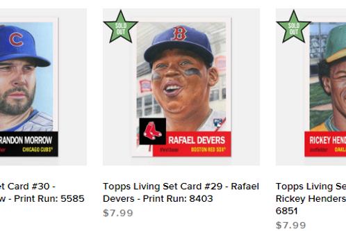 TOPPS LIVING SET Week10 3cards set #mlb #baseball #toppslivingset