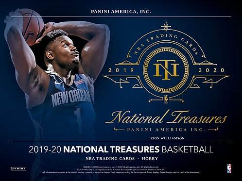 NBA 2019-20 Panini NATIONAL TREASURES box #NBA #ZION #八村塁 #JaMorant