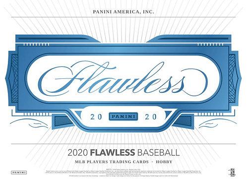 ラスト BGB1282 2020 PANINI FLAWLESS BASEBALL 1case 2box 20-HIT DRAFT