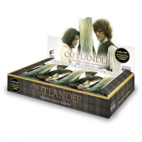 海外ドラマ 2018 Cryptozoic OUTLANDER 3 box #海外ドラマ #OUTLANDER
