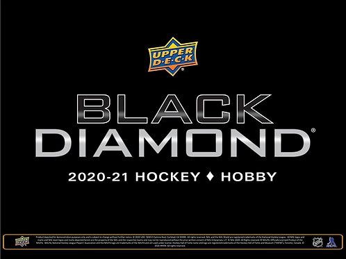 NHL 2020-21 UD BLACK DIAMOND box #Hockey #NHL #アイスホッケー