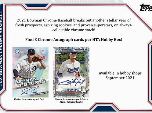 MLB 2021 BOWMAN CHROME CHOICE Baseball box #BOWMAN #野球カード