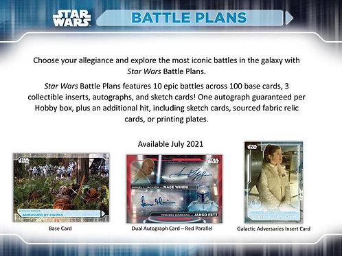 2021 Topps STAR WARS BATTLE PLAN Hobby box #StarWars #スターウォーズ