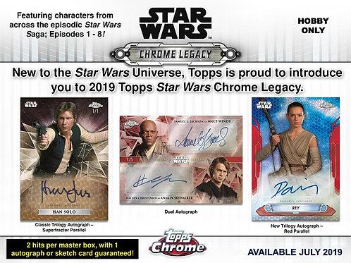 映画トレカ 2019 Topps STAR WARS CHROME LEGACY box #スターウォーズ