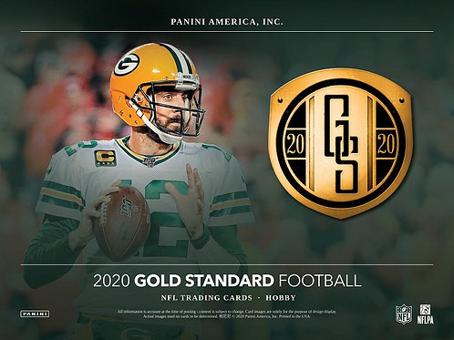 NFL 2020 PANINI GOLD STANDARD box #Football #アメフト #NFL #パニーニ