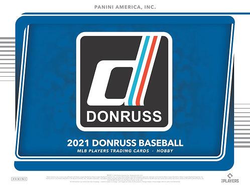 MLB 2021 DONRUSS Hobby Baseball box #パニーニ #野球カード #メジャーリーグ