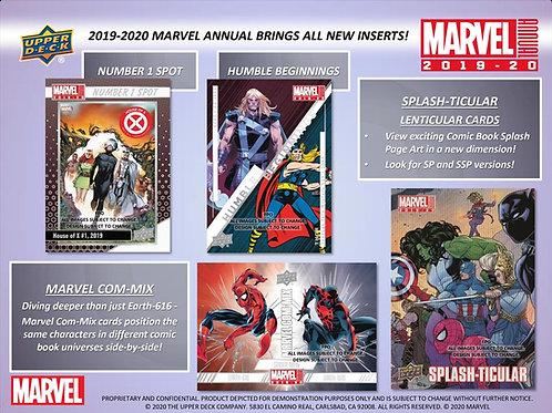 2020 UD Marvel Annual #MARVEL #SKETCH #マーベルトレカ #アメコミ