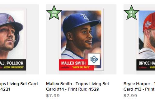 TOPPS LIVING SET Week5 3cards set #mlb #baseball #toppslivingset