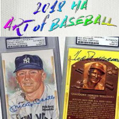 MLB 2018 HISTORIC ART OF BASEBALL