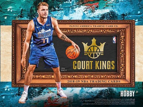 NBA 2018-19 Panini COURT KINGS Basketball box #バスケカード #NBA #Doncic