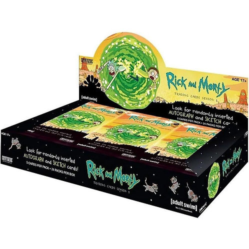 2018 Cryptozoic Rick and Morty Season 1