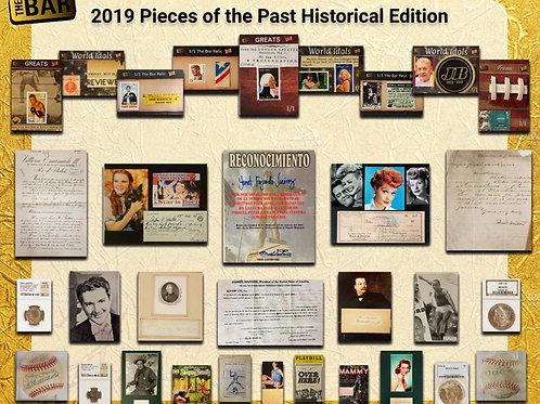 2019 Super Break The Bar Pieces of the Past HISTORICAL box #学習トレカ #歴史 #スポーツ
