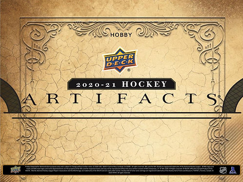 NHL 2020-21 UD ARTIFACTS box #Hockey #NHL #アイスホッケー