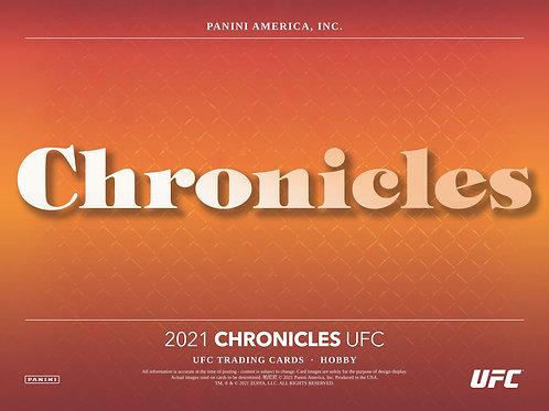UFC 2021 PANINI CHRONICLES HOBBY box #格闘技 #UFC #PANINI