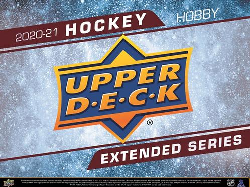 NHL 2020-21 UD UPPER DECK EXTENDED Hobby box ヤングガン6枚 #Hockey #NHL #アイスホッケー