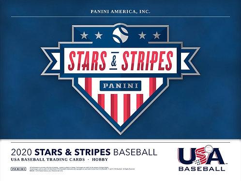 MLB 2020 PANINI USA STARS & STRIPES box #PANINI #BASEBALL #MLB #USA