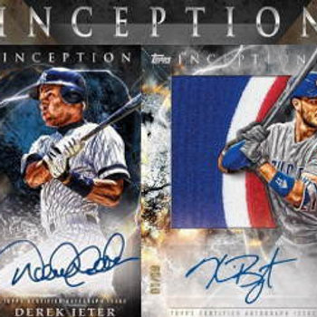 【予約】MLB 2018 TOPPS INCEPTION 1BOX #大谷翔平
