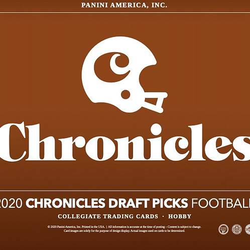NFL 2020 PANINI CHRONICLE DRAFT box #Football #アメフト #NFL #パニーニ