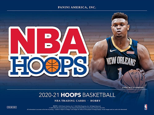 1人1箱制限 NBA 2020-21 Panini Hoops Hobby box #NBA #wiseman #ball #panini