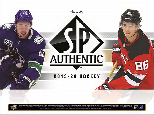 NHL 2019-20 UD Upper Deck SP AUTHENTIC box #Hockey #NHL #アイスホッケー
