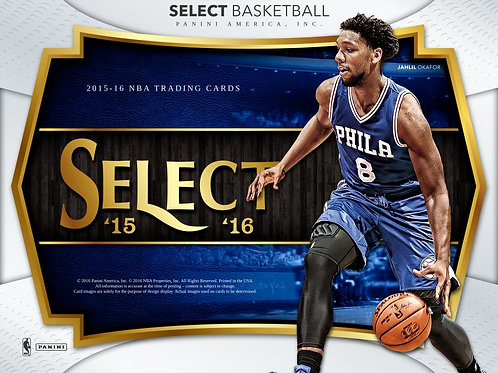 NBA 2015-16 Panini SELECT BOX #TOWNS #BOOKER