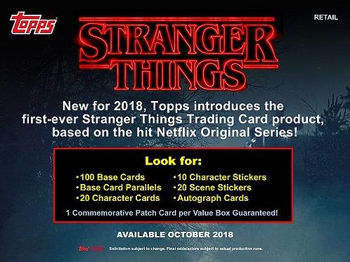 海外ドラマ 2018 Topps Stranger Things box #サインカード #海外ドラマ #StrangerThings