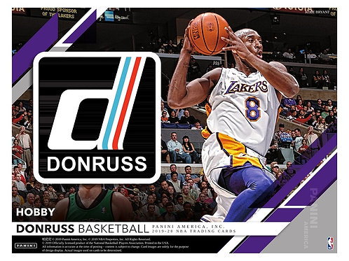 NBA 2019-20 Panini DONRUSS Hobby box #NBA #ZION #八村塁 #JaMorant