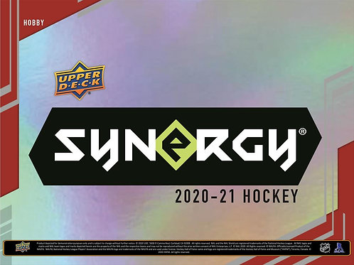 NHL 2020-21 UD SYNERGY box #Hockey #NHL #アイスホッケー
