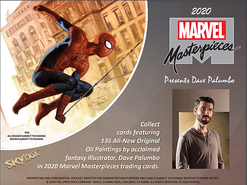 2020 UD Upper Deck MASTERPIECES #sketch #marvel #Spiderman
