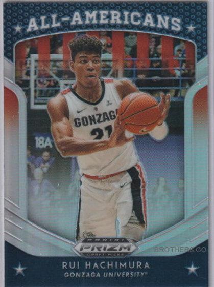 Rui Hachimura NBA 2019-20 PANINI PRIZM DRAFT ALL AMERICAN SILVER #84 #八村塁