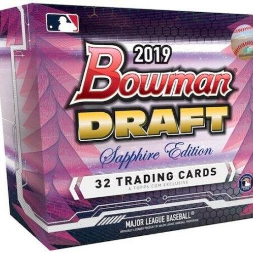 MLB 2019 BOWMAN DRAFT Sapphire box #bowman #Rutschman #CJAbrams
