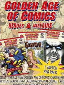 2010 BREYGENT Golden Age of Comics Sketch Art Pack