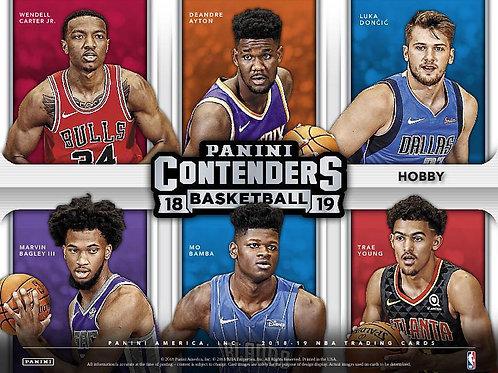 NBA 2018-19 Panini CONTENDERS Basketball box #バスケカード #NBA
