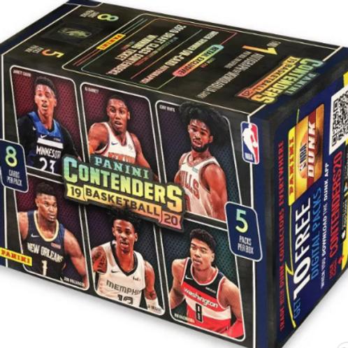 NBA 2019-20 Panini CONTENDERS blaster box #NBA #ZION #八村塁 #JaMorant