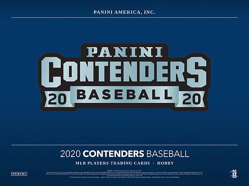MLB 2020 PANINI CONTENDERS Baseball box #LuisRobert #BoBichette #Panini