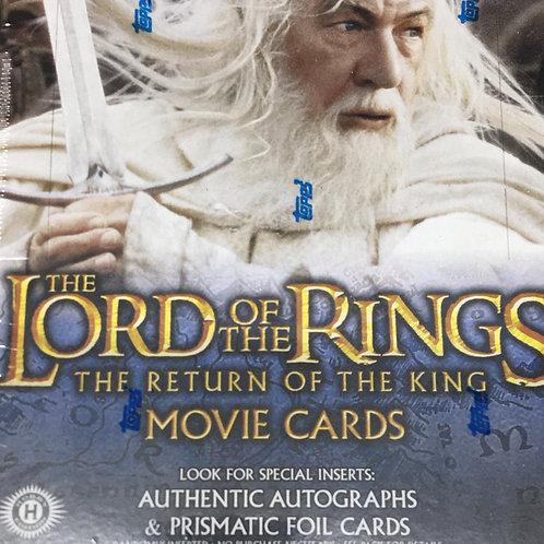 2003 TOPPS Lord of the Rings RETURN OF THE KING box #TOPPS #映画 #指輪物語