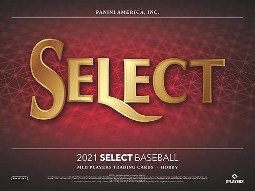 MLB 2021 PANINI SELECT HOBBY Baseball box 大谷翔平 選手 サインカードにラインナップ