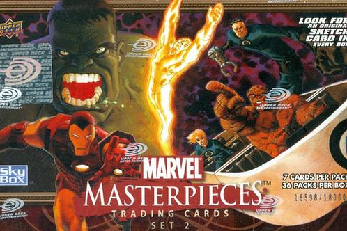 2008 UD Upper Deck MASTERPIECES Ser.2 box #sketch #marvel #Spiderman