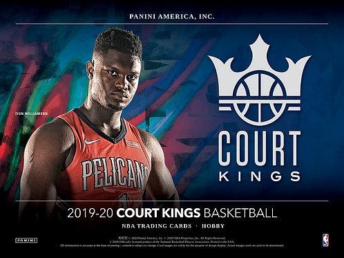 NBA 2019-20 Panini COURT KINGS box #NBA #ZION #八村塁 #JaMorant