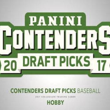 MLB 2017 PANINI CONTENDERS BOX