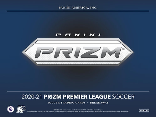 SOCCER 2020-21 PANINI PRIZM EPL Breakaway box #Panini #サッカー