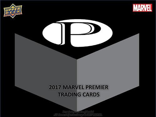 スケッチ系 2017 UD MARVEL PREMIER Box #SKETCH #MARVEL
