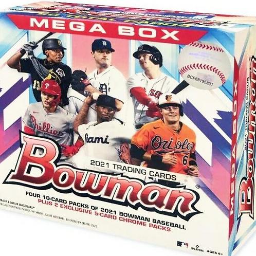 MLB 2021 BOWMAN MEGA Baseball box #TOPPS #野球カード #メジャーリーグ