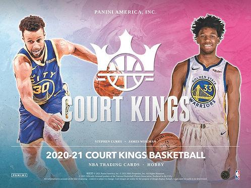 NBA 2020-21 Panini COURT KINGS HOBBY box #LameloBall #Panini #AnthonyEdwards