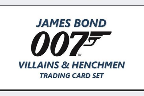2020 Upper Deck UD James Bond Villains and Henchmen #007 #映画カード
