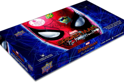 2019 UD Upper Deck Spider-Man Far From Home box #サインカード #TomHolland #Spiderman