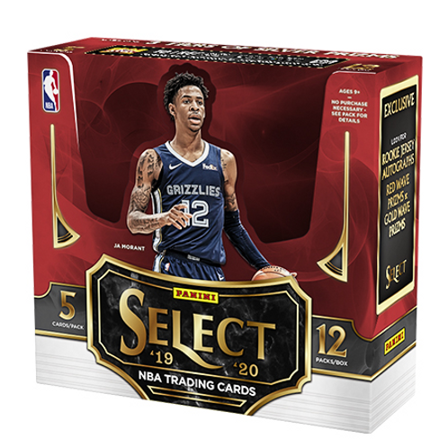 NBA 2019-20 Panini SELECT China pack #NBA #ZIONWILLIAMSON #八村塁 #JaMorant